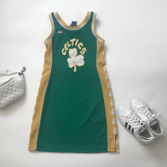 Hardwood Classics Dresses Retrovintage Boston Celtics Jersey Dress Med Poshmark